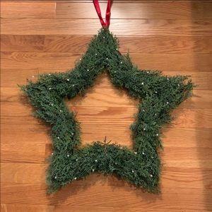 Pottery Barn holiday wreaths